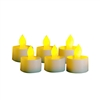 Candle Choice Set of 6 Flameless Tealights/Tea Lights votives with 4 and 8 hour Timers, 400-hour Battery Life